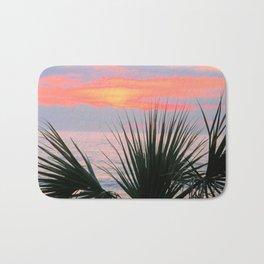 Tropical Sunset Bath Mat