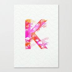 K_ Canvas Print