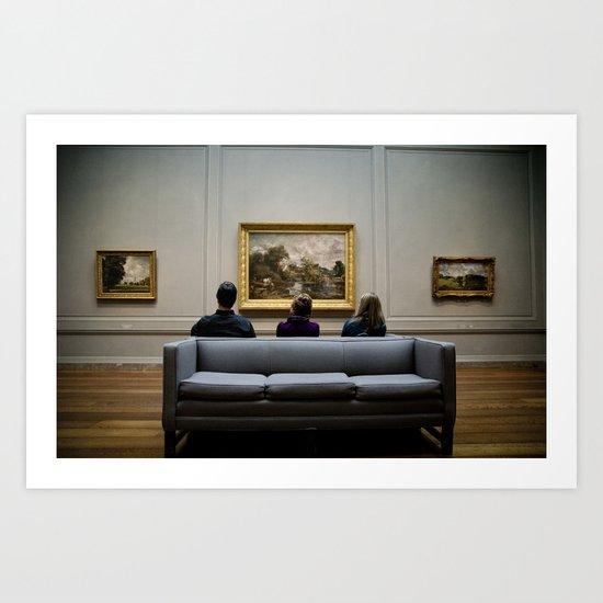 Art For Three Art Print