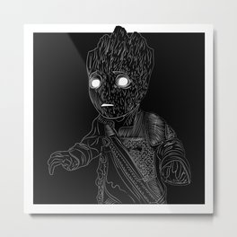 BabyGroot, GuardiansOfTheGalaxy Metal Print