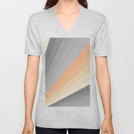 Sunrise - Colorful Abstract Art Unisex V-Neck