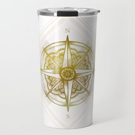 Golden Compass Travel Mug