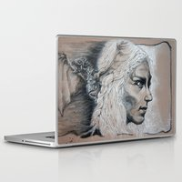 mother of dragons Laptop & iPad Skins featuring Mother by Clayton Young