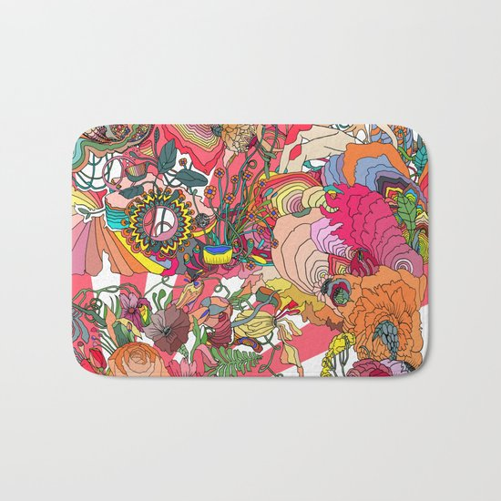 Of the Hare Meadow Bath Mat