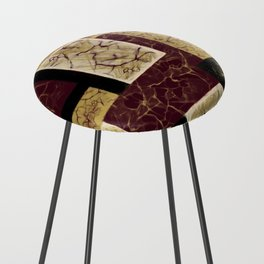Crackle2 Counter Stool
