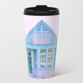 San Francisco Painted Lady House Travel Mug