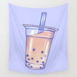 Bubble Tea Wall Tapestry