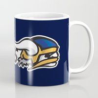 vikings Mugs featuring Norwegian Vikings Full Logo by Griffey Challenge
