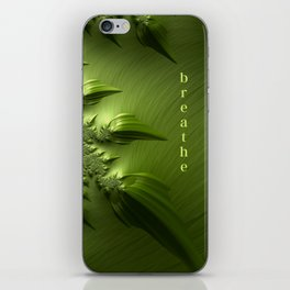 Breathe iPhone Skin