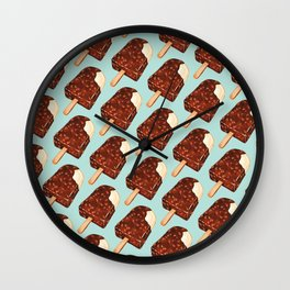 Popsicle Pattern - Ice Cream Wall Clock