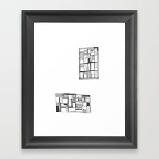 Lost Keys Cafe Framed Art Print