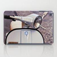 vespa iPad Cases featuring vespa by Mar Fernandez