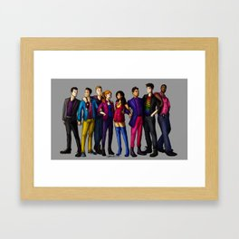 SH Squad Pride Framed Art Print