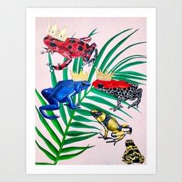 Frog Painting Art Print