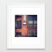 dublin Framed Art Prints featuring Dublin by Gillian Topping