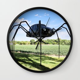 Beetle Spider Wall Clock