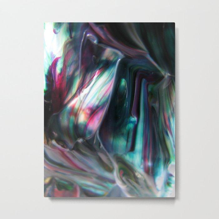 Morpho adularia Metal Print