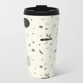 whales Metal Travel Mug