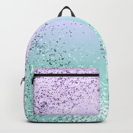 Sparkling MERMAID Girls Glitter Heart #1 #decor #art #society6 Backpack