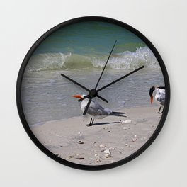 Waiting for Waves Wall Clock