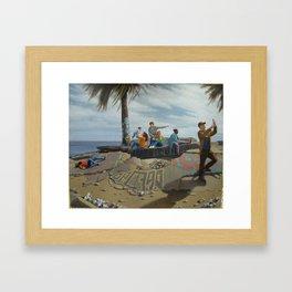 Death of Christo Framed Art Print