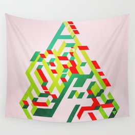 Christmas Pine Wall Tapestry