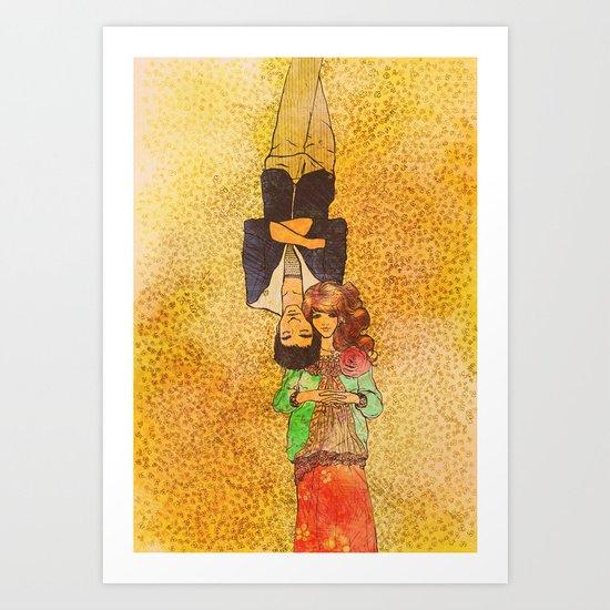 Valentine Illo ♥ Art Print