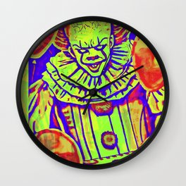 Georgie Not So Wise To This Clown Wall Clock
