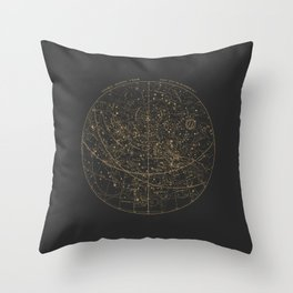 Visible Heavens - Dark Throw Pillow