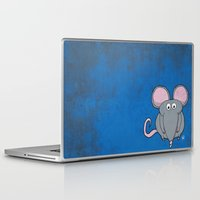 mouse Laptop & iPad Skins featuring Mouse by Rafael Martinez