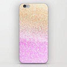 GOLD PINK GLITTER by Monika Strigel iPhone & iPod Skin