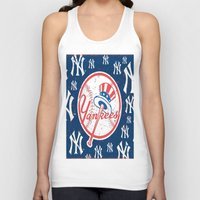 yankees Tank Tops featuring NY YANKEES by I Love Decor