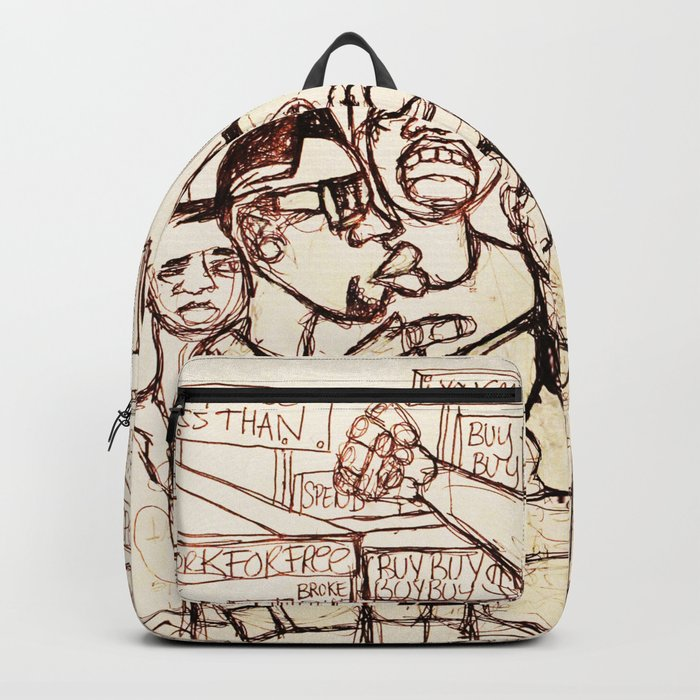 2013 Never Accept Less Working For Others Gain Backpack