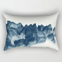 Blue Paeonia #1 Rectangular Pillow