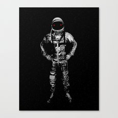 I'll take you to the moon and leave you there Canvas Print
