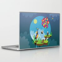 pixar Laptop & iPad Skins featuring UP by Maria Jose Da Luz