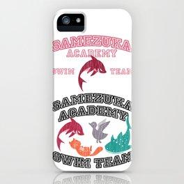 Samezuka - Shark iPhone Case