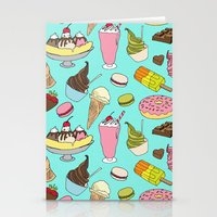 dessert Stationery Cards featuring Dessert Explosion! by TinyBee