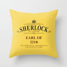 Earl of 221B Throw Pillow