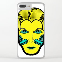 giallo Clear iPhone Case