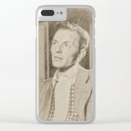 Frank Sinatra by JS Clear iPhone Case