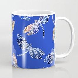 Dragonflies Blue Coffee Mug