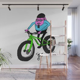 Hardboiled Greg rides! Wall Mural