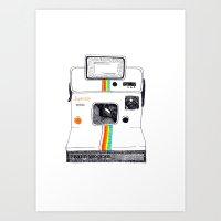 polaroid Art Prints featuring Polaroid by Mariam Tronchoni