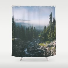 Washington III Shower Curtain
