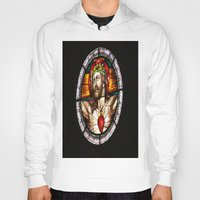 jesus Hoodies featuring Jesus by Gaby Mabromata