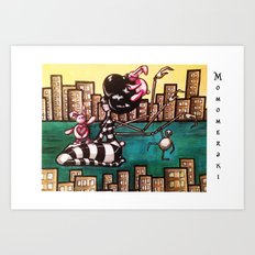 Bella Boat Art Print