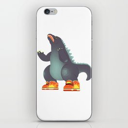 Dunkzilla iPhone Skin