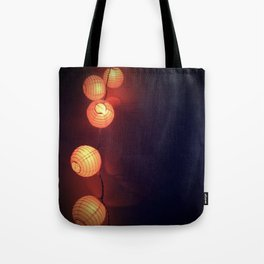 Lanterns Tote Bag