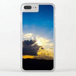 Twin Flame Cloud Lovers Clear iPhone Case